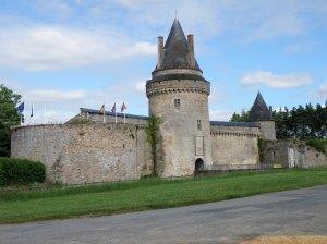 C'est la vie de chateau à Blain où le gîte se situe dans l'enceinte du monument.