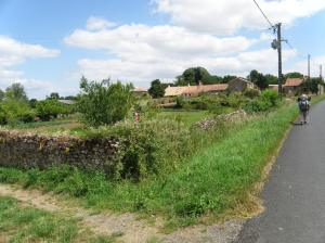 Les Roches baritaud. Village typique de la Vendée.